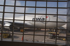 Northwest Airlines Boeing 747-400 (conradthedog) Tags: airplanes boeing747 dtw northwestairlines detroitwaynemetropolitaninternationalairport