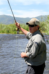 Back cast (A(nDroid)Sebrell) Tags: utah fishing flyfishing trout provo troutfishing winstonrod middleprovoriver