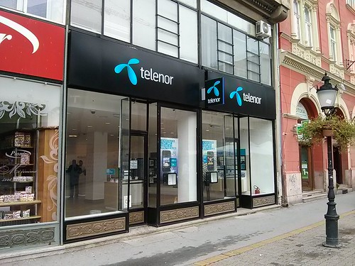 Telenor Store in Subotica