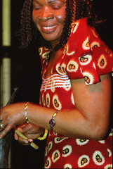 Gifty NaaDK from Ghana Etome Vocalist at the Africa Centre London March 2001 053 (photographer695) Tags: gifty from ghana africa centre mar 2001 sophie dancing naadk etome vocalist london march