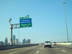"Southbound I-45 - Downtown Destinations & Milam Street - NEXT LEFT (FreewayDan) Tags: highway downtown texas expressway county"" area"" 2013 ""north ""houston 45"" ""© ""gulf ""harris ""interstate ""pierce freeway"" elevated"" freewaydan"""