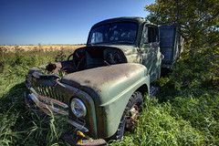 Truckin' (Dan Cronin^) Tags: toronto canada abandoned dan automobile photographer trucks lonely saskatchewan prairies cronin dancronin
