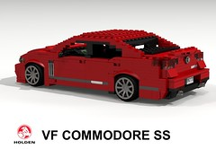 Holden 2013 VF Commodore SS (lego911) Tags: auto car model gm lego render ss australia commodore aussie 72 challenge v8 calais vf holden cad lugnuts povray generalmotors moc ldd 72nd rwd miniland sportswagon lego911 lugnuts6thanniversary