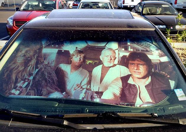 星際大戰 車用遮陽罩