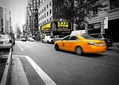 Ed Sullivan Theater (StirlingCreative.com) Tags: nyc ny newyork celebrity manhattan cab taxi yellowcab lateshow letterman davidletterman edsullivan edsullivantheater talkshow