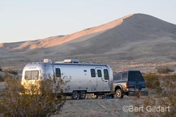 Kelso Dunes and Airstream