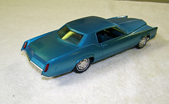 1968 Cadillac Eldorado Promo Model Car - Caribe Aqua Metallic (coconv) Tags: pictures auto door old 2 two history classic cars hardtop scale car vintage photo promo model automobile aqua image photos antique metallic picture images cadillac eldorado plastic 124 vehicles photographs photograph sample vehicle historical kit 1968 autos collectible collectors promotional coupe automobiles dealership johan fleetwood dealer mpc 68 125 caribe amt smp hubley revell banthrico