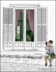 Ragusa Women (ImageMD) Tags: camera italy digital cellphone sicily ragusa oligosketch