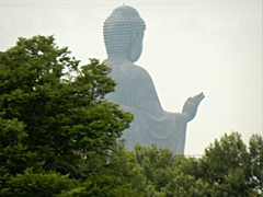 Ushiku Daibutsu from the distance (Germán Vogel) Tags: statue japan bronze asia buddha buddhist buddhism idol daibutsu record ibaraki eastasia ushiku amitabhabuddha