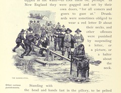 """British Library digitised image from page 136 of """"The Household History of the United States and its people"""""""