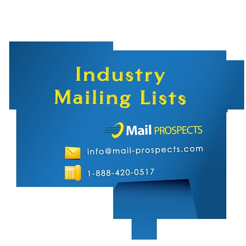 Industry Mailing List - Advertising, Agriculture, Manufacturing List
