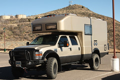 EarthRoamer (twm1340) Tags: arizona ford 4x4 az jerome rv camper motorhome 2014 f550 earthroamer 5jan2014