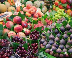 IMG_6368 (Mary Susan Smith) Tags: barcelona vacation food tourism fruit holidays forsale display market colourful ramblas mercadodelaboqueria storybookwinner pregamewinner gamesweepwinner storybookttwwinner bbqatgrandmas 91larambla