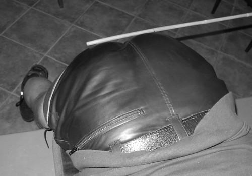Rohrstock lederhose Rohrstaberl als