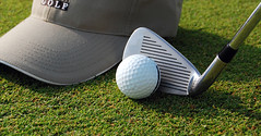 Golf Time (anandjpurohit777) Tags: game green ball golf concentration day play rich sunny enjoy stick skill lown