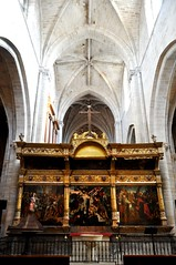 Santo Domingo de la Calzada (La Rioja). Catedral. Trascoro (santi abella) Tags: larioja santodomingodelacalzada catedraldesantodomingodelacalzada