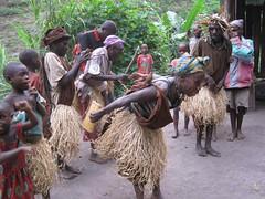 Batwa dance 195 (David Bygott) Tags: africa uganda 2014 nge batwa buhoma davidbygott