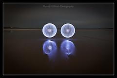Soul mates (Pikebubbles) Tags: longexposure nightphotography lightpainting night circle lights graffiti o circles spin orb led leds 88 orbs lightgraffiti 2014 longexposures longexpo nightography davidgilliver lightjunkies davidgilliverphotography