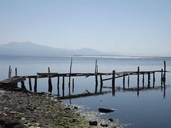 View from the Kalochori Lagoon, Thessaloniki, Greece, 11 April 2014 (AndrewDixon2812) Tags: aegean lagoon greece macedonia thessaloniki kalohori thermaicgulf  kalochori