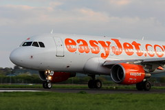 Lift off (music_man800) Tags: uk venice light orange plane canon airplane evening airport lift action budget aircraft aviation united kingdom off unite airline airbus pan viewpoint takeoff runway essex southend spotting sen easyjet eb a320 a319 spotter 700d ytake