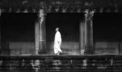 An Ethereal Cambodian Buddhist Nun (El-Branden Brazil) Tags: asian cambodia southeastasia cambodian buddhist monk buddhism angkorwat nun sacred