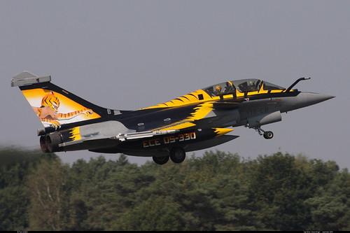 "RAFALE B 118-EB 304 TIGER ""Kleine Brogel"" sept 2009"