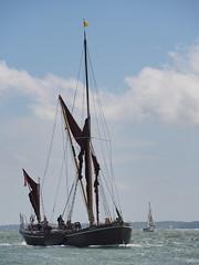 Alice of Rochester (Megashorts) Tags: aliceofrochester alice rochester sailing barge olympus omd em10 oldportsmouth portsmouth hampshire england uk solent sea arriving mzd 40150mm ppdcb4 em10mk1 em10mki
