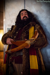 Professor Hagrid - MomoCon 2014 (novavistaphotography) Tags: 50mm cosplay harrypotter cosplayers nikond3200 costumeplay momocon harrypotterseries professorhagrid momocon2014
