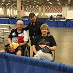 "NVWG Fred Garraway with Mariloou and Pert <a style=""margin-left:10px; font-size:0.8em;"" href=""http://www.flickr.com/photos/125529583@N03/19129441846/"" target=""_blank"">@flickr</a>"