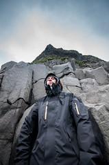 Like a Columnar Basalt (Lorenzo Sedita) Tags: trip summer beach fog lens island bay iceland 10 wide sigma horror geology 20 volcanic basalt columnar reynisfjara