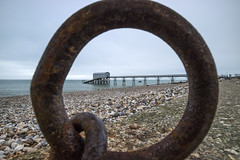The Inner Circle, Selsey (Sean Hartwell Photography) Tags: selseybill selsey westsussex sussex beach shingle pier rnli lifeboat seaside sea ring iron rust canoneosm3 england southcoast english channel manche ocean
