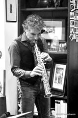 N2122831 (pierino sacchi) Tags: kammerspiel brunocerutti feliceclemente igorpoletti improvvisata jazz letture libreriacardano musica sassofono sax stranoduo