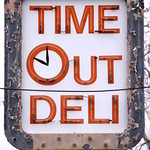 Time Out Deli neon sign - Oak Ridge, TN thumbnail