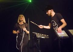 Avec Sans_3030451_DxO (thathurt) Tags: avecsans avec sans synth pop music muscians livemusic gigs whiteheat lexington london duo band vocal novation jackstjames alicefox