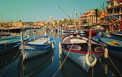 Sanary-sur-Mer (Miguel Virkkunen Carvalho) Tags: travel france port canon boats photography wooden seaside europe mediterranean village harbour outdoor provence picturesque southernfrance provencealpesctedazur sanarysurmer