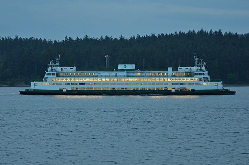 WSF - Elwha outbound from Anacortes.