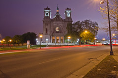 Minneapolis Nightview (Riddhish Chakraborty) Tags: light usa church horizontal architecture night photography star twilight downtown cityscape picture minneapolis photograph comment licence rajani chobi raat riddhish