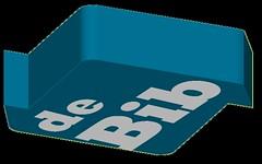 DEBIB 3D donkerblauw 2 (FotoBIB) Tags: 3d blauw biblogo transparanteachtergrond