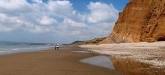 Yaverland, Isle of Wight (BOB@ wootton) Tags: beach strata cul seashore isle sedimentary wight sandown iow yaverland redcliff stratification
