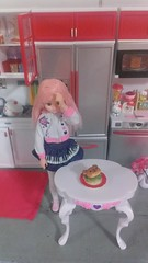 4/7 cooking with love (royalhearts) Tags: hello pink cooking kitty ment re pure licca rilakkuma neemo azone