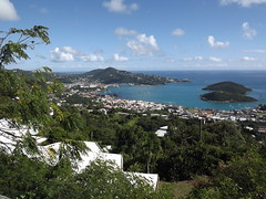 "Charlotte Amalie Harbor from atop the mountain! • <a style=""font-size:0.8em;"" href=""http://www.flickr.com/photos/71018430@N04/9035685235/"" target=""_blank"">View on Flickr</a>"