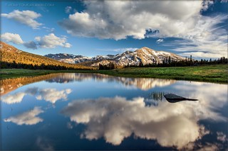 Mammoth Peak Reflection by TomGrubbe