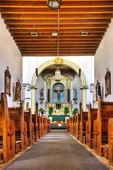 Ysleta Mission Interior (Ray Chiarello) Tags: church nativeamerican elpaso mission hdr missiontrail ysleta tigua pueblorevolt sigma1020mm456dchsm