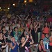 Vista del público que vino a disfrutar del concierto