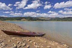 Henry Hagg Lake (Joshua Johnston Photography) Tags: blue water clouds oregon canon kayak hagglake woodenkayak henryhagglake