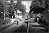 Alston Station . (wayman2011) Tags: street urban bw architecture buildings trains cumbria pennines stations alston teesdale weardale canon400d