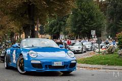 50 years of Porsche 911 (*AM*Photography) Tags: 911 turbo porsche mura 50 bergamo rs gt2 speedster carrera gt3 anniversario sfilata raduno cittàalta