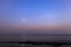 Fallen Stars I (mhalali) Tags: longexposure sunset sea seascape canon landscape redsea sunsets saudi jeddah saudiarabia landscap canon5dmarkii
