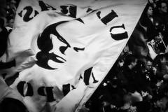 the curve B (imbroglionefiorentino) Tags: italy blackwhite soccer bn napoli naples bianconero calcio ultras 2013 stadiosanpaolo calcionapoli bwartaward canoneos60d