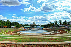 The Art of Living International Center (PinealEyeCaptures) Tags: art living bangalore center international aol lanscape the kanakpura